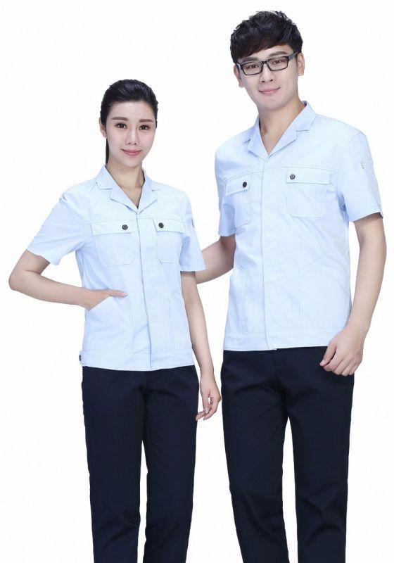 蓝白上衣+藏蓝裤