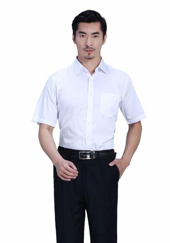 衬衫白色男